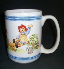 Raggedy Ann & Andy Dolls Outside Playing Mug Cup 12 oz  #31920