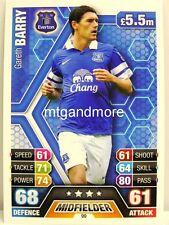 Match ATTAX 2013/14 premier League - #099 Gareth Barry-Everton