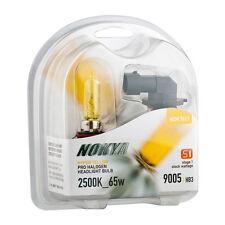 Nokya Headlight Set 2 Nok7611 Bulb Hyper Yellow drl high beam 9005 HB3 65w 7611