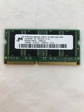 Micron PC100 128MB 144-Pin RAM Memory SDRAM SODIMM 100MHz For Laptops / Printers