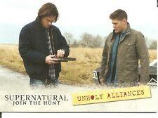 Supernatural Season 1-3 Join the Hunt Unholy Alliances Location Insert Card #L09