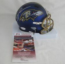 RAY LEWIS signed/autographed BALTIMORE RAVENS Riddell BLAZE Mini Helmet - JSA