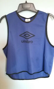 Umbro Youth Training Bib *LOT of 4* Soccer Football Blue -New with tags