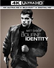 The Bourne Identity 4k Ultra HD Blu-ray Region &