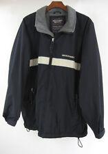 Abercrombie & Fitch L Navy blue Fleece Lined Ski Coat Snowboard Jacket