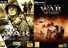 men of war assault squad 2 deluxe & men of war vietnam  new&sealed