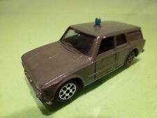 POLITOYS E19 ALFA ROMEO GIULIA - POLIZIA POLICE - GREEN 1:43 - GOOD CONDITION