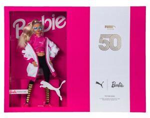 PUMA SUEDE CLASSIC X BARBIE W/DOLL RASPBERRY SHOE PINK-WHITE SNEAKERS