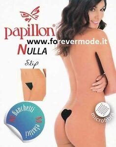Slip perizoma donna Papillon adesivo in microfibra senza cuciture art PA1050