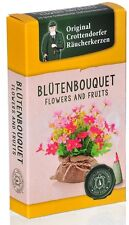 Crottendorfer Räucherkerzen'Blütenbouquet' Flower&Fruits Größe M (20 Kegel/Pkg)