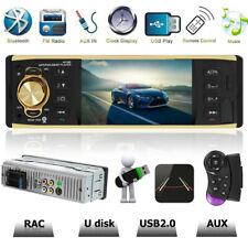 "4.1"" HD Single 1 DIN Car Stereo Video MP5 Player Bluetooth FM Radio AUX USB TF"
