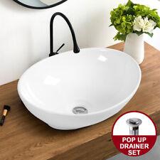 Basin Ceramic Bathroom Sink - White