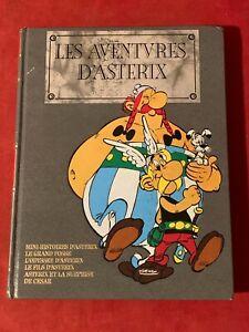 LES AVENTURES D'ASTERIX - LES INTEGRALES - EDITION DE LUXE CUIR DARGAUD - TOME 6