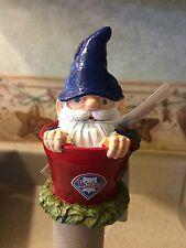 Philadelphia Phillies MLB Garden Gnome Plant Pick Stake NWT