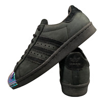 Adidas Superstar Women's Shoes Size Uk 5 Black Leather Casual Trainers EUR 38