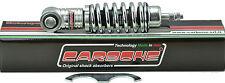 Carbone Front shock absorber body/spring chromed Vespa 50/90/125 Primavera,ET3