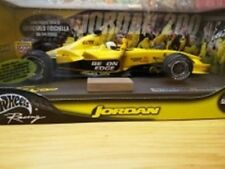 MATTEL C3858 JORDAN F1 model car weathered finish G Fisichella Brazil 2003 1:18