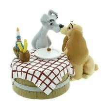 Disney Magical Moments Lady and the Tramp Kissing Figurine