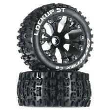 NEW Duratrax Jato Stampede Rustler Lockup ST Mounted Front Blk Tire/Wheel