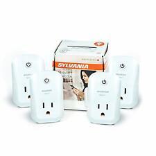 Sylvania 70555 ZigBee Indoor Smart Plug Works with SmartThings Wink Echo Plus.