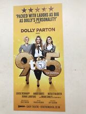 1 flyer 9 TO 5 The Musical London Dolly Parton