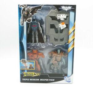 Batman The Dark Knight Rises Quick Tek Triple Mission Weapon Pack NEW FREE SHIP