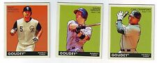 2009 Goudey Mini Green Back - 3 Card Lot