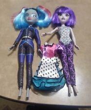 "12"" Disney Parks Attractionistas Celeste & Gracie Dolls ONLY HTF w/ Maddie dress"