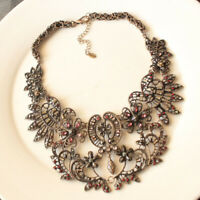 """New 18"""" ZARA Collar Statement Necklace Gift Vintage Women Party Holiday Jewelry"""