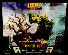 ROG Battle Pit Arena Action Card Playset Witches Sabbath Fantasy Set **NEW**