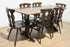 Ercol Up to 6 Seats Table & Chair Sets