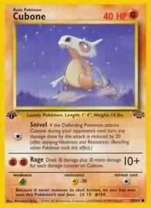 Pokemon - 1st edition Cubone  - 50/64 Jungle exc 2699