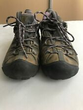 Keen Targhee Low Brown Leather Keen Dry Hiking Shoes Men Size 7.5