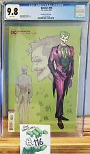 Batman #95 1:25 Joker Variant CGC 9.8 DC Jimenez Design 2020 Joker War Comic Key
