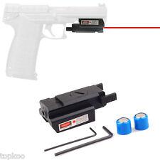 Low Profile Red Dot Mini Laser Sight 20mm Weaver Rail Mount for Pistol Gun Scope