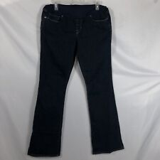 Gap 1969 Womens Maternity Size 12 Long Sexy Boot Stretch Denim Jeans