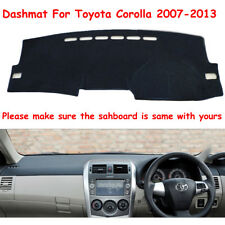 For Toyota Corolla 2007-2013 Dashmat RHD Dashboard Mat Dash Cover Pad Mats FLY5D