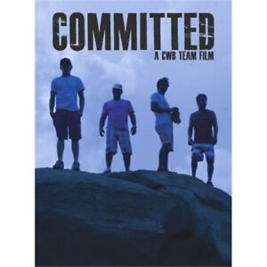 New Committed A CWB Team Film DVD Wakeboard Skateboard Video