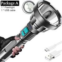 Super Bright DEL Projecteurs 18650 Rechargeable USB Imperméable IPX4 services Projecteur