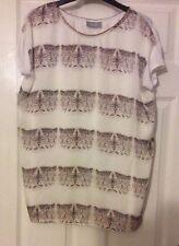 Wallis Animal Print Cap Sleeve Tops & Shirts for Women
