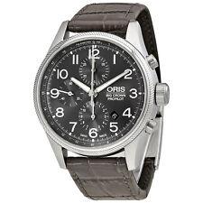 Oris Big Crown ProPilot Grey Dial Chronograph Mens Watch 774-7699-4063GYLS