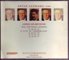 Artur Schnabel - Beethoven: The Late Piano Sonatas (1993) 2 CD sealed rare OOP