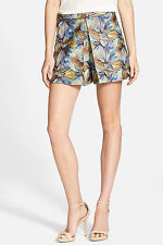 NEW Sam Edelman Size 6 Multicolors Inverted Pleat Skort Mini Skirt Short $129