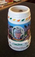 Oak Tree 1991 horse racing ceramic stein All-Time Leading Stakes Winning Trainer