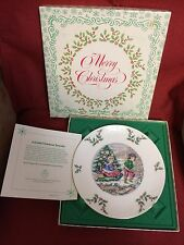 1979 Royal Doulton Christmas Plate - 3rd in Series - Mint in Box
