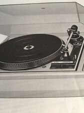 "Dual CS1258 Turntable ""Original"" Owners Manual 3 English Pages+Illustrations A16"