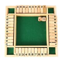 Jeu De Plateau De Puzzle NumÉRique À 4 Joueurs Ensemble De Jeu De Fermer Bo R4A6