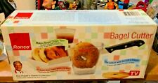 Classic Ron Popeil Bagel Cutter by Ronco As Seen On TV Sealed Box World Ship BIN