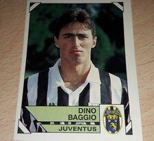 FIGURINA CALCIATORI PANINI 1993/94 JUVENTUS BAGGIO ALBUM 1994