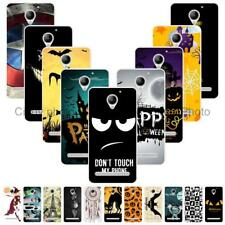 For Lenovo Vibe C2 Power C2 K10a40 Halloween Soft TPU Case Cover Witch Cat Mask